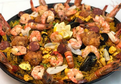 luxe paella catering