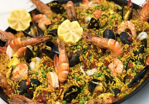 traditionele paella catering