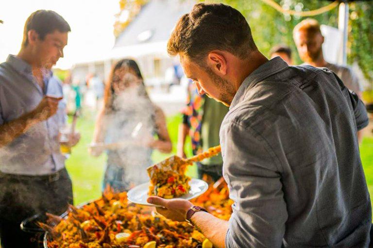 paella aan huis voor events