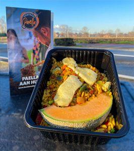 Paella Vegetarisch - Schoolfeest